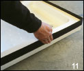 installing aquastrap step